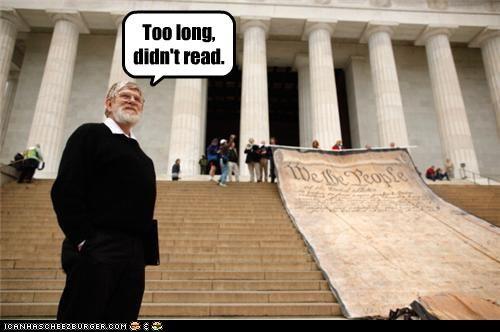 Too long, didn't read.