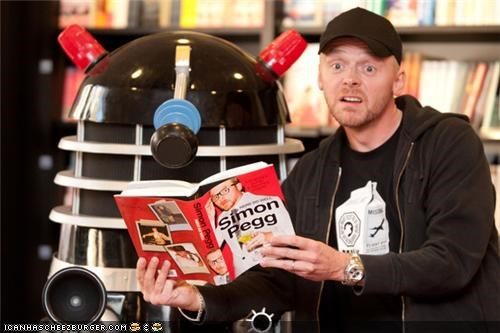awesome,dalek,doctor who,Hall of Fame,sci fi,Simon Pegg