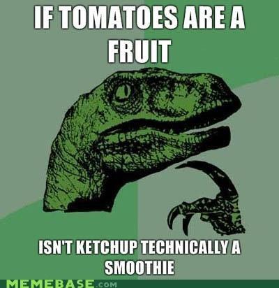 Philosiraptor: Tomatoes