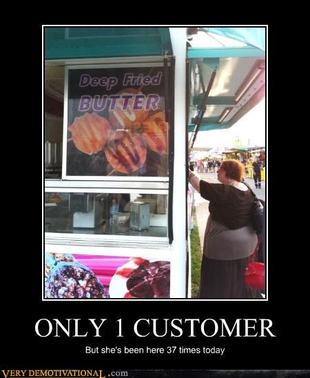 ONLY 1 CUSTOMER