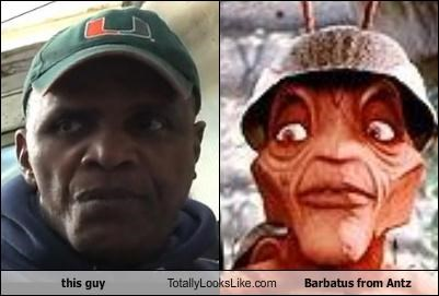 this guy Totally Looks Like Barbatus from Antz