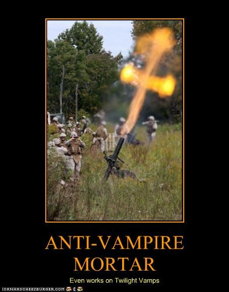 ANTI-VAMPIRE MORTAR