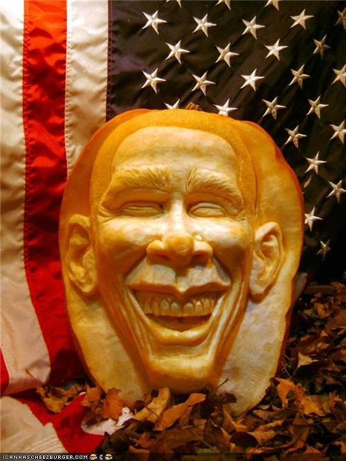 The Presidential Pumpkin