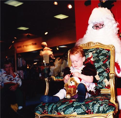 Lifelong Fear Of Santa In 3... 2... 1...
