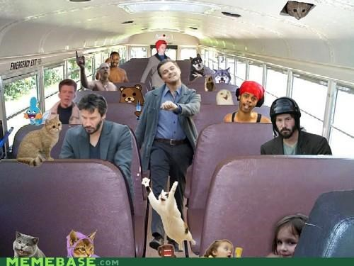 Memebase: GET ON THE BUS