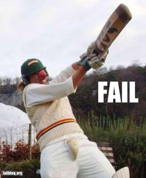 Cricket Fail