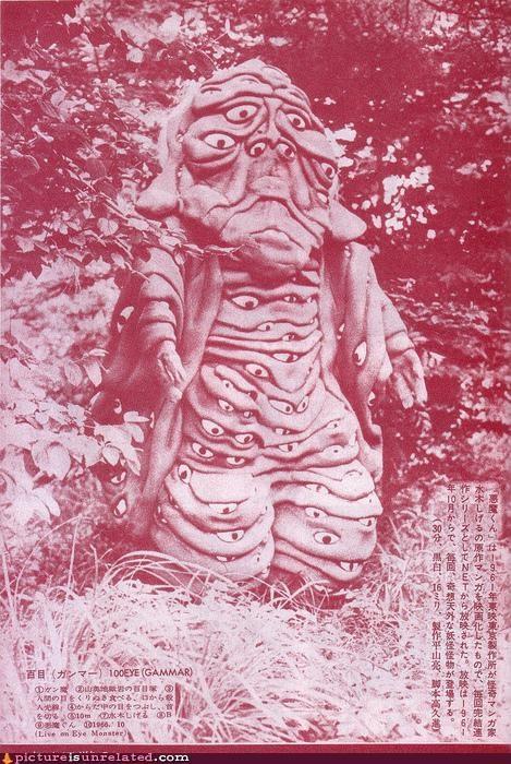 costume,eyes,Japan,monster,vintage,wtf