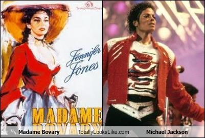 Madame Bovary Totally Looks Like Michael Jackson