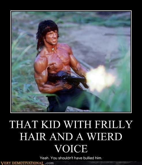 THAT KID WITH FRILLY HAIR