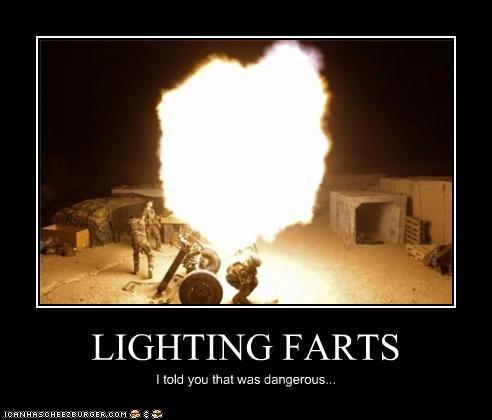LIGHTING FARTS