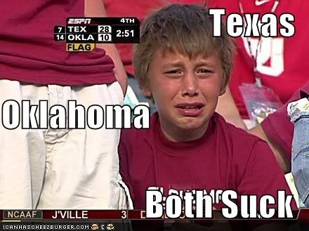 Texas Oklahoma Both Suck