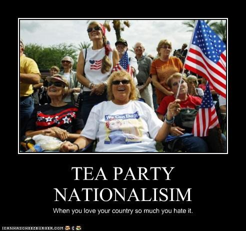 TEA PARTY NATIONALISIM