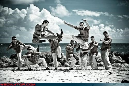 cinematic groomsmen picture,cinematic wedding photo,crazy groom,fashion is my passion,funny groomsmen picture,funny wedding photos,groomsmen jump,jumping groomsmen,miscellaneous-oops,oops,technical difficulties,torn pants,wedding party,Wedding Themes