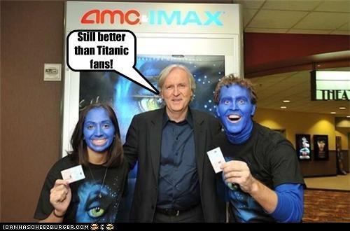 Avatar,celeb,director,funny,james cameron,lolz