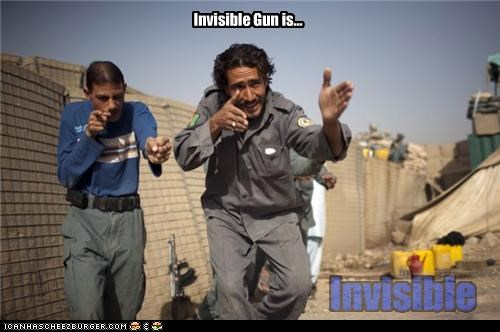 Invisible Gun is...