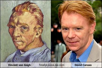 actor,artist,csi miami,david caruso,Vincent van Gogh