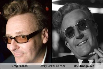 Greg Proops Totally Looks Like Dr. Strangelove