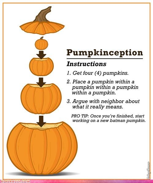 awesome,Extras,halloween,Inception,movies,pumpkins