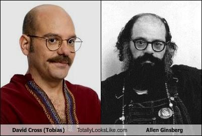 David Cross (Tobias) Totally Looks Like Allen Ginsberg