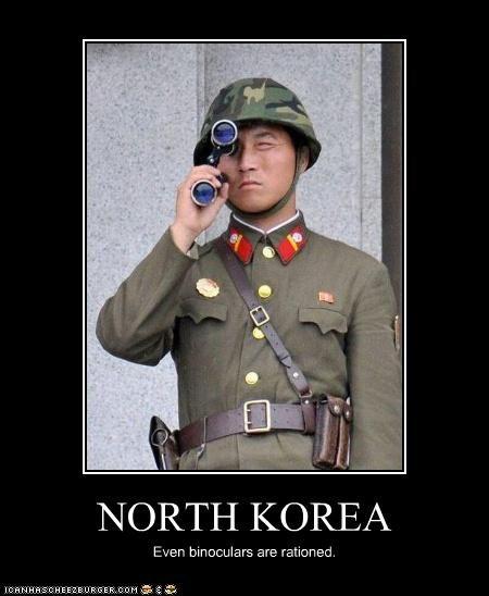 demotivational,funny,lolz,military,North Korea,soldier