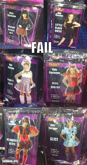 Kids' Costumes FAIL