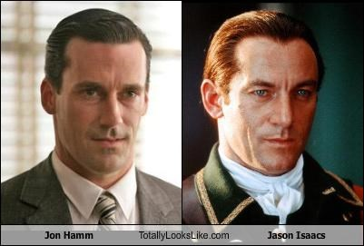 Jon Hamm Totally Looks Like Jason Isaacs