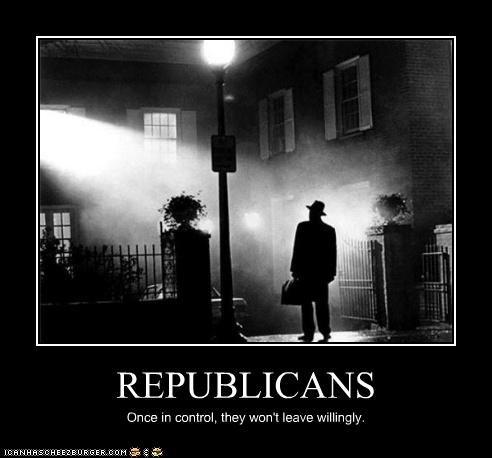 horror,lolz,max von sydow,politics,Republicans,the exorcist