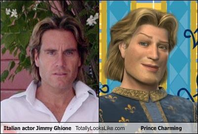 Italian actor Jimmy Ghione Totally Looks Like Prince Charming