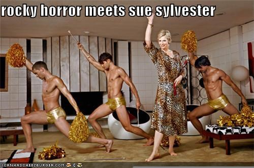 rocky horror meets sue sylvester