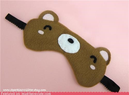 Kawaii Bear Sleep Mask