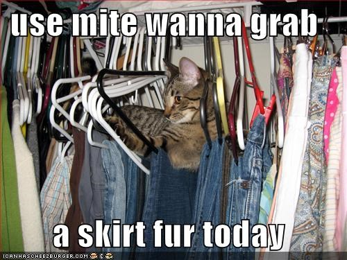 use mite wanna grab   a skirt fur today