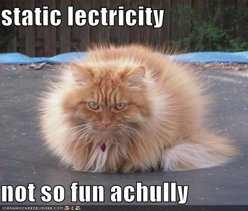 static lectricity  not so fun achully