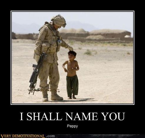 I SHALL NAME YOU