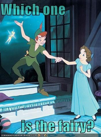 Which one  is the fairy?
