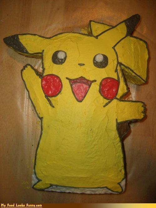 cake,nintendo,pikachu,Pokémon,Sweet Treats,video games