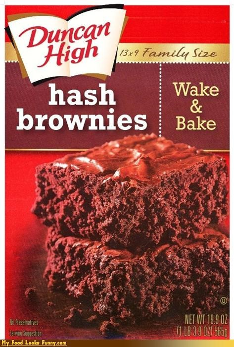 Funny Food Photos - Hash Brownie Mix