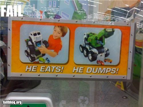 Toy Dump Truck Sales Pitch