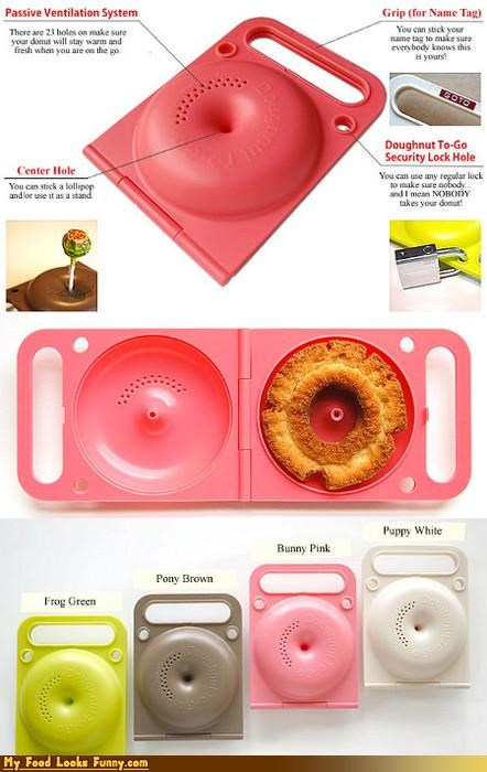 Funny Food Photos - Donut Carrier