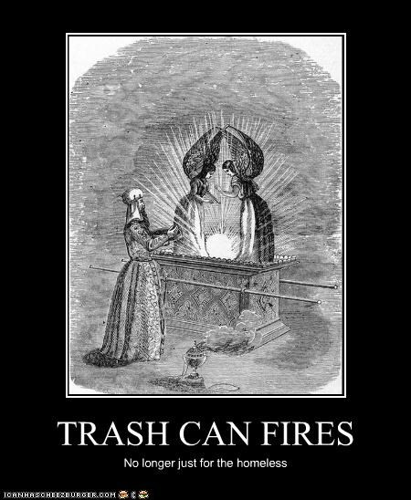 TRASH CAN FIRES