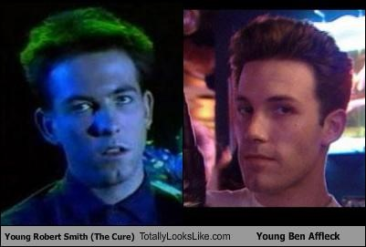 Young Robert Smith (The Cure) Totally Looks Like Young Ben Affleck