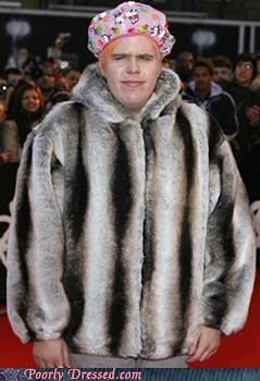 Perez Hilton Shows Us Why Fur is Out of Style