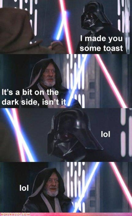 Mmm...Burnt Toast...With Butter...