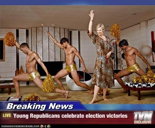Breaking News - Young Republicans celebrate election victories