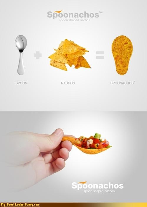 Funny Food Photos - Edible Spoon