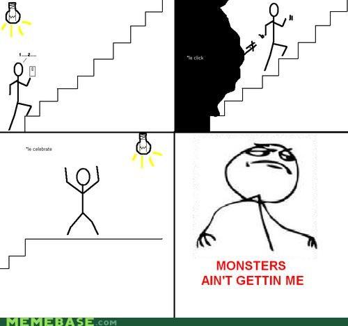 basement,dark,Memes,monster,win