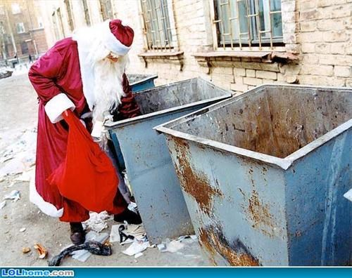 Santa Isn't Immune To The Global Recession