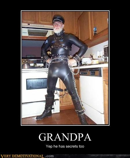 chains,Grandpa,leather,leather daddy,secrets,wtf