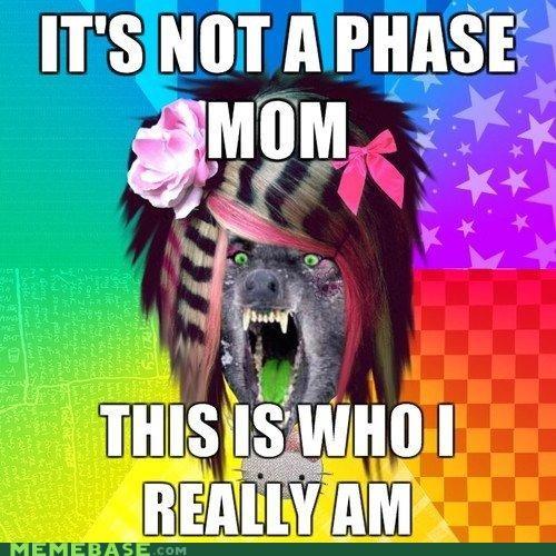 mom,scene wolf,self expression