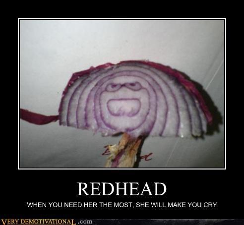 onion,cry,redhead