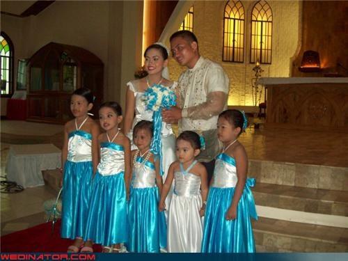 The Littlest Bridesmaids